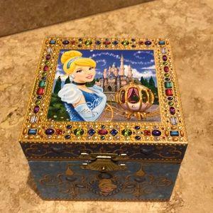 Authentic Disney Princess Musical Jewelry Box
